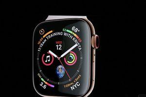 Apple ra mắt đồng hồ Apple Watch Series 4 màn hình tràn viền
