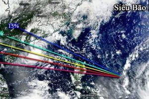Tin bão mới nhất: Siêu bão Mangkhut giật trên cấp 17, tiếp tục tiến về Biển Đông