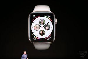 Apple Watch Series 4 ra mắt: Màn hình lớn hơn, tích hợp máy quét điện tâm đồ