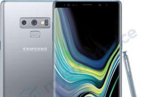 Samsung Galaxy Note 9 ra mắt màu bạc mới, đối đầu với bộ ba iPhone mới