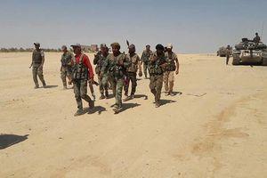 Quân đội Syria đè bẹp IS, chiếm 3,5 km chiều sâu chiến trường Al-Safa, Sweida
