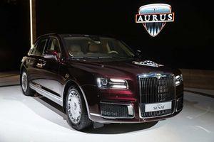 Cận cảnh Aurus Senat, xe Rolls-Royce của nước Nga