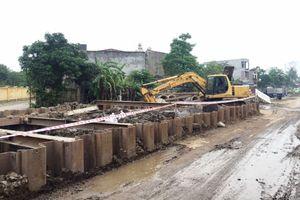 Hải Phòng: Dự án Thoát nước mưa, nước thải và quản lý chất thải rắn chậm tiến độ