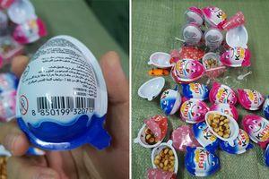 Bắt giữ 1,5 tấn kẹo trứng King Egg không rõ nguồn gốc chuẩn bị tung ra thị trường