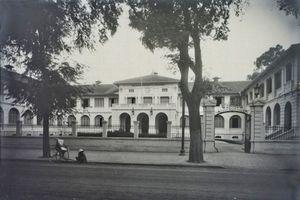 Ảnh lịch sử quý giá về dinh Thượng thư Nội vụ ở Sài Gòn xưa