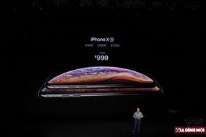 iPhone XS và XS Max: Tân tiến nhất, giá khởi điểm 22,5 triệu đồng, cho đặt hàng từ 14/9