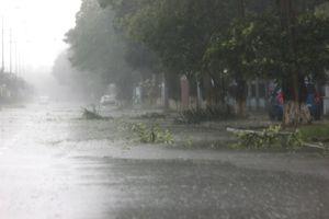 Thông tin cuối cùng về cơn bão số 5 Barijat: Suy yếu thành vùng áp thấp dưới cấp 6