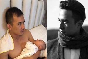 Hai tháng thức đêm chăm con, Lương Thế Thành hotboy giờ đã thành ông bố bỉm sữa tàn tạ đến mức này