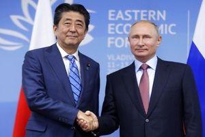 Nhật Bản trì hoãn việc ký hiệp ước hòa bình với Nga
