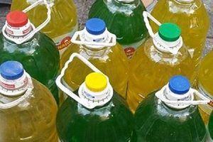 Dùng nước rửa chén không nhãn mác, tiềm ẩn nhiều nguy cơ