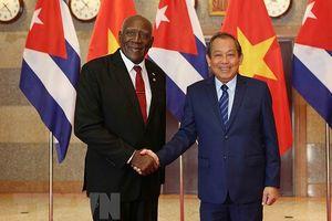 Quyết tâm làm sâu sắc hơn quan hệ hợp tác toàn diện Việt Nam- Cuba