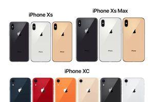 Ngắm kỹ bộ ba sản phẩm iPhone 2018 vừa ra mắt giá từ 749 USD đến 1.099 USD