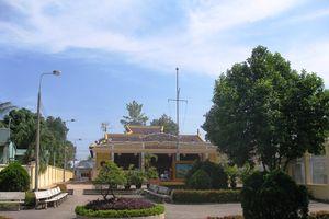 Điều chỉnh Dự án mở rộng, trùng tu di tích Đền thờ Nguyễn Hữu Cảnh