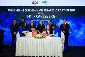 FPT trở thành đối tác công nghệ của hãng bia Carlsberg trên toàn cầu