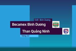 Highlights CLB Bình Dương - CLB Quảng Ninh: Trọng tài bẻ còi
