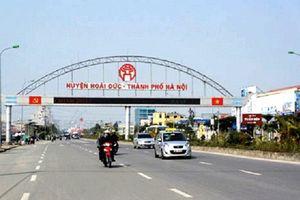 Phó Thủ tướng chỉ đạo thanh tra đột xuất về đất đai tại Hoài Đức, Hà Nội