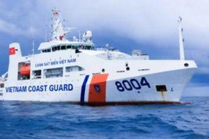 Cảnh sát biển đồng hành với những… 'cột mốc sống'