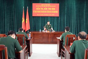 Kiểm tra kết quả xây dựng và thực hiện Quy chế dân chủ cơ sở tại Quân đoàn 3