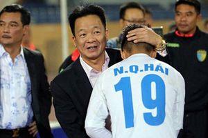 Bầu Hiển: 'Nếu 2 đến 3 năm tới mà Manchester City quan tâm Quang Hải, chúng tôi sẽ ủng hộ'