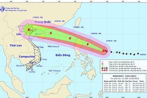 'Cuồng phong' Mangkhut có thể đổ bộ vào miền Bắc