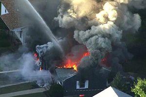 Hiện trường nổ gas ở Mỹ, Boston chìm trong biển lửa