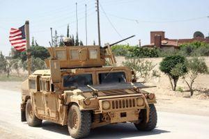 Quân đội Mỹ tập trận với lực lượng đối lập tại miền nam Syria