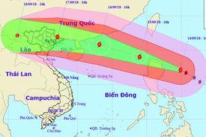 Các tỉnh lên kế hoạch cấm biển trước khi siêu bão Mangkhut đổ bộ vào Biển Đông