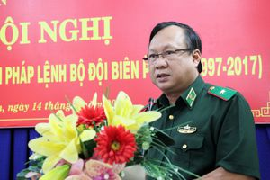 BĐBP Long An phát huy vai trò nòng cốt, chuyên trách trong quản lý, bảo vệ biên giới