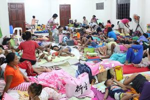 Philippines sơ tán dân trước siêu bão Mangkhut