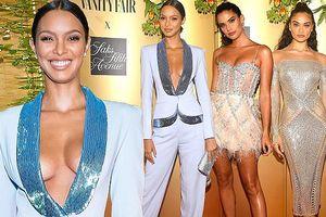 Dàn thiên thần Victoria's Secret gợi cảm hết cỡ tại tiệc Vanity Fair