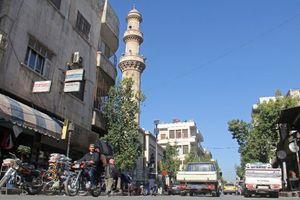 Quân nước ngoài bất ngờ rầm rập tiến vào Syria