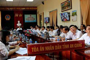 TAND tỉnh An Giang tổ chức hội nghị trực tuyến sơ kết công tác quý III năm 2018