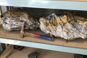 Đào được cục vàng tự nhiên lớn nhất thế giới tại Úc nặng gần 90kg