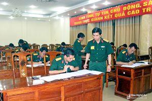 Bộ Tư lệnh Quân khu 4 tổ chức thành công Hội thi Trưởng ban Doanh trại năm 2018