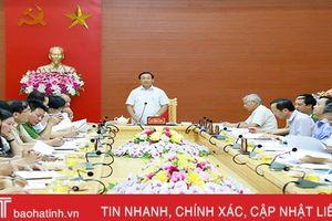 Bí thư Tỉnh ủy: Vũ Quang đạt chuẩn huyện NTM trước năm 2020 là khả thi