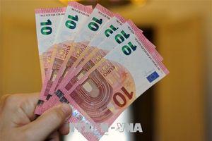 Đồng euro tăng lên mức cao nhất trong 2 tuần