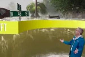 Clip: Truyền hình Mỹ sử dụng công nghệ 3D để dự báo siêu bão Florence