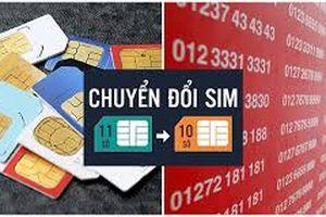 Hỗ trợ khách hàng chuyển đổi thuê bao điện thoại 11 số về 10 số