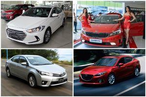 Sedan tầm giá 700 triệu: Mẫu xe nào đang thống lĩnh thị trường Việt?