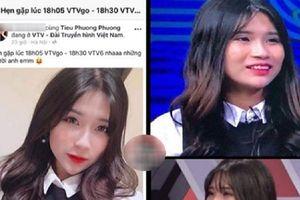 Nhan sắc selfie của cô nàng 'sống ảo VTV' đang được cộng đồng mạng chú ý nhất