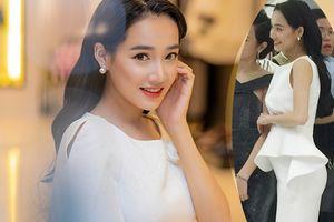 Đi sự kiện tại Hà Nội, Nhã Phương mặc kín như bưng nhưng lại lộ bụng to bất thường