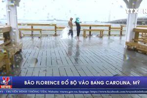 Siêu bão Florence đổ bộ vào bang Carolina, Mỹ