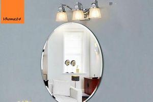 Những mẫu gương soi vừa tiện dụng vừa làm sáng phòng tắm của bạn