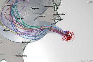 Siêu bão Florence tấn công nước Mỹ: Có dấu hiệu yếu, nhưng vẫn gây hậu quả khủng khiếp