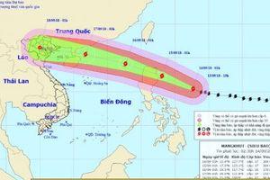 Siêu bão Mangkhut mạnh tương đương siêu bão Haiyan, ảnh hưởng trực tiếp đến vịnh Bắc Bộ