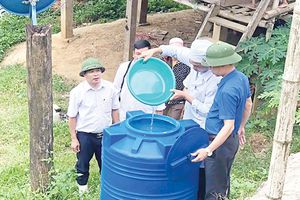 Ngành y tế quyết liệt thực hiện các giải pháp không để dịch bệnh bùng phát sau mưa lũ
