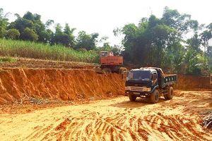 Huyện Thạch Thành tăng cường công tác quản lý khai thác khoáng sản