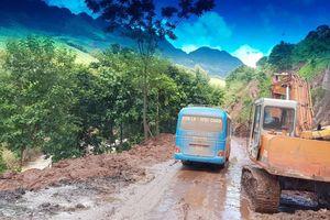 Quốc lộ 6 qua tỉnh Hòa Bình – Sơn La vẫn còn nhiều điểm tiềm ẩn nguy cơ sạt lở đất đá