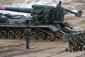 Vũ khí bắn được đạn hạt nhân tham gia Vostok-2018