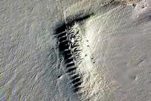 Thị trấn bí ẩn lộ diện bên dưới Nam Cực lạnh giá?